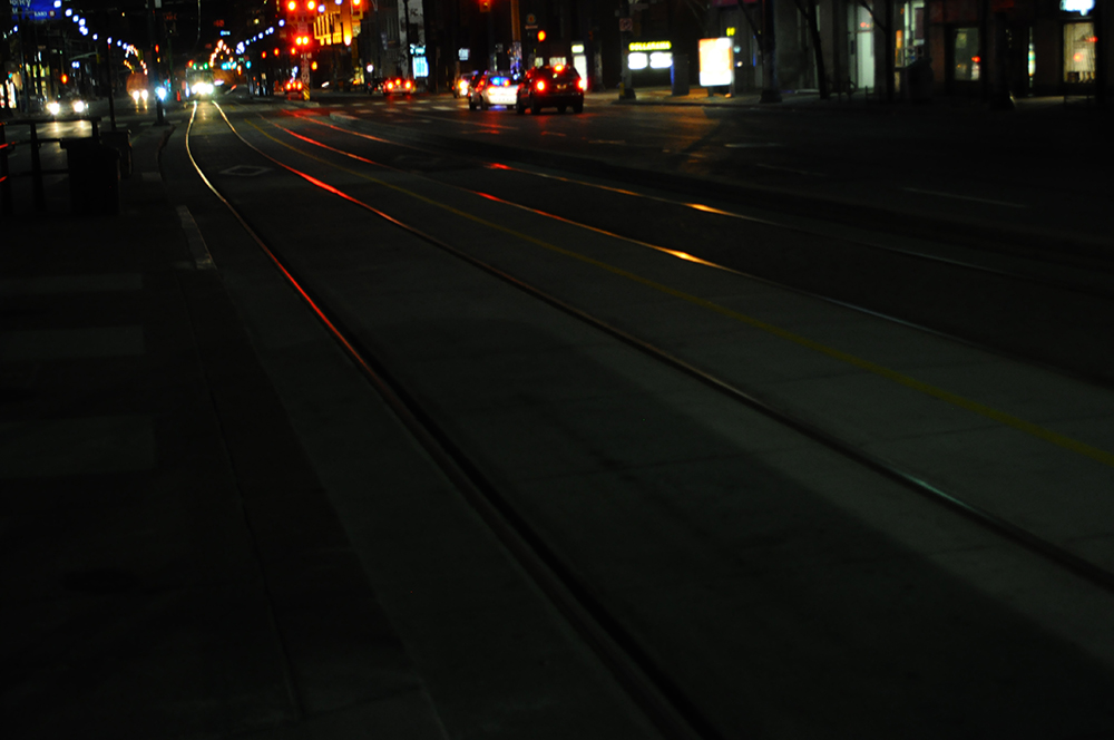 photo - stretcar tracks