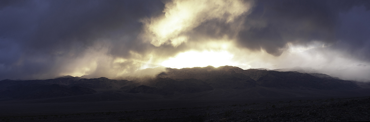 photo - death valley rain